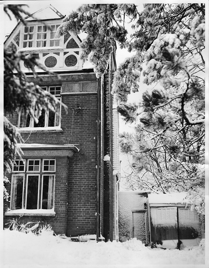 Caterham in the snow 1963